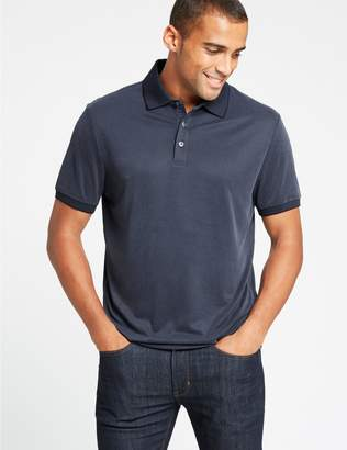 Marks and Spencer Slim Fit Modal Rich Textured Polo Shirt