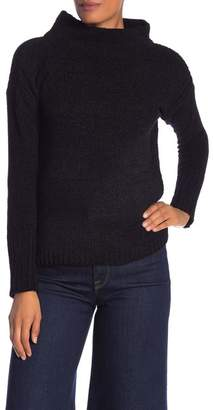 Catherine Malandrino Chenille Turtleneck Knit Sweater