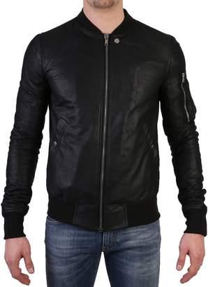 Rick Owens Leather Jacket