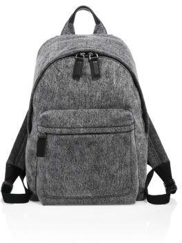 Marc Jacobs Customizable Denim Biker Backpack $250 thestylecure.com
