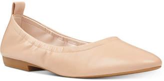 Nine West Greige Ballet Flats Women Shoes