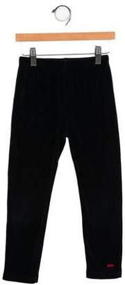 Sonia Rykiel Girls' Velvet Straight-Leg Pants