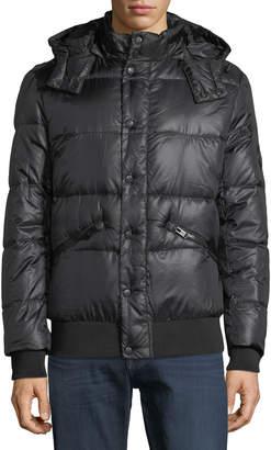 Body Glove Men's Down Parka Soft Touch Jacket