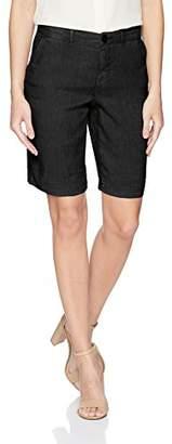 NYDJ Women's Bermuda Linen Short