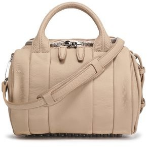 Alexander Wang Rockie Studded Textured-Leather Tote