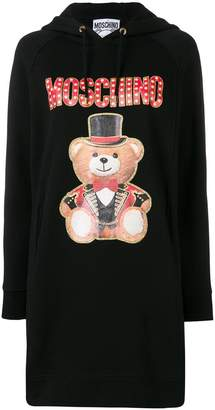 Moschino Teddy Circus hoodie dress