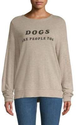 Wildfox Couture Dogs Are People Too Sweatshirt