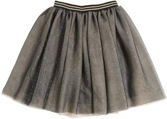 Little Marc Jacobs Layered Glitter Stretch Tulle Skirt