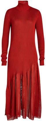 Calvin Klein Asymmetric Knit Dress