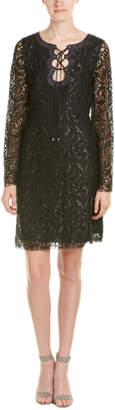 Hale Bob Lace Sheath Dress