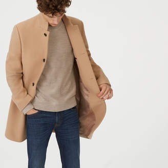 Club Monaco Loukas Funnel-Neck Coat