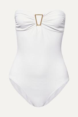 Melissa Odabash Argentina Embellished Swimsuit - White
