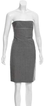 Peter Som Strapless Wool Dress w/ Tags