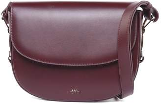 A.P.C. Odette Smooth-leather Cross-body Bag