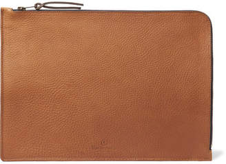 Bleu de Chauffe Jim Organic Full-Grain Leather Pouch