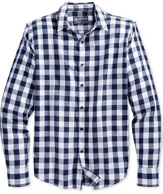 American Rag Men's Banarama Check Shirt, Created for Macy's