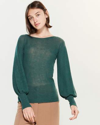 Roberto Collina Blouson Sleeve Fine Knit Sweater