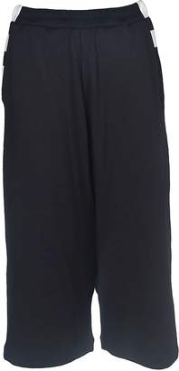 Y-3 Wide Leg Cropped Trousers