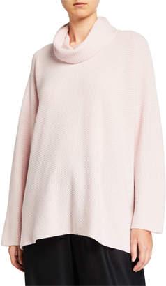 eskandar Cashmere Cowl-Neck Sweater