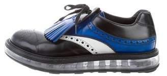 Prada Leather Brogue Sneakers