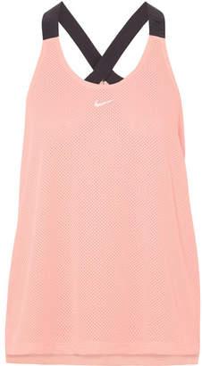 Nike Elastika Mesh Tank - Pink