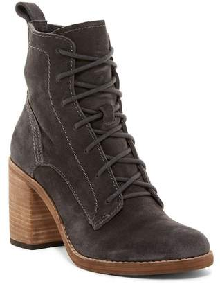 Dolce Vita Rowley Lace-Up Block Heel Boot