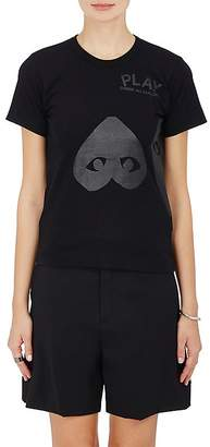Comme des Garcons Women's Heart Cotton T-Shirt