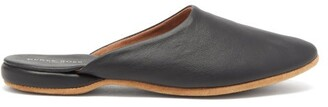 Derek Rose - Morgan Leather Slipper Shoes - Mens - Black