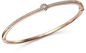 Bloomingdale's Diamond Flower Station Bangle in 14K Rose Gold, 0.33 ct. t.w. - 100% Exclusive