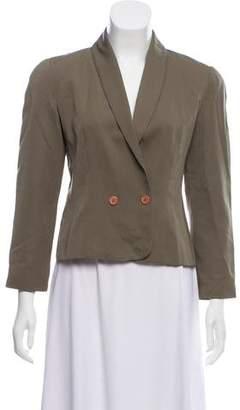 Christian Dior Wool Shawl Collar Jacket