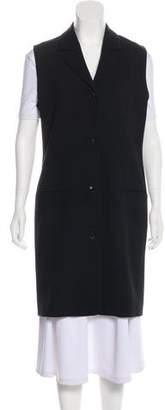 Michael Kors Wool Longline Vest