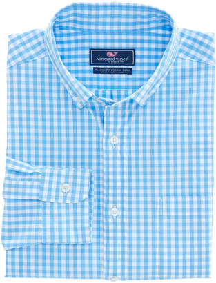 Vineyard Vines Carleton Gingham Classic Stretch Murray Shirt