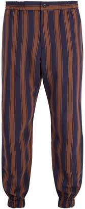 Etro Straight-leg striped trousers