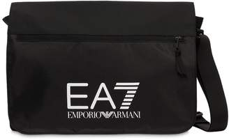Emporio Armani Ea7 Train Prime Nylon Messenger Bag