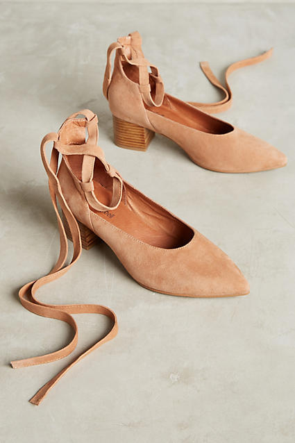 Jeffrey Campbell Jeffrey Campbell Tied Suede Pumps
