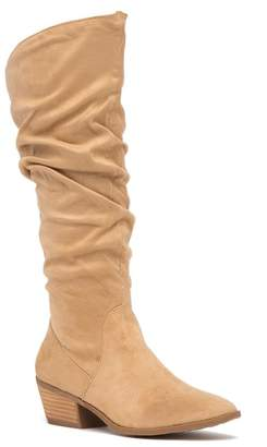 Carlos by Carlos Santana Madelyn To-The-Knee Scrunched Boot