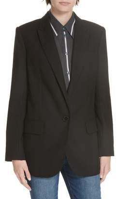 Equipment James Wool Blazer