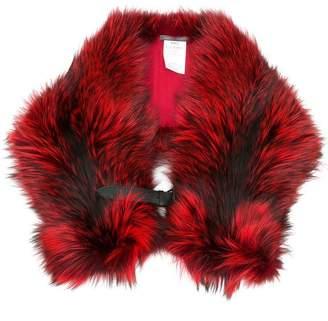 Alberta Ferretti large collar scarf