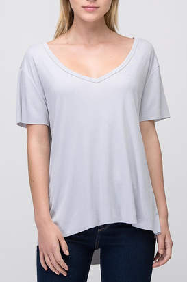 Double Zero V-Neck Basic Tee