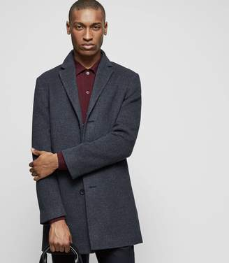 Reiss ZEN Wool-blend overcoat