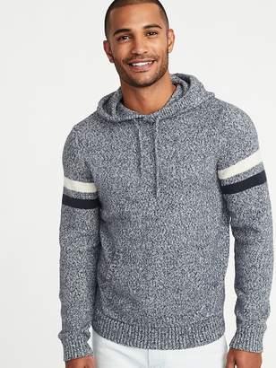 Old Navy Built-In Flex Sleeve-Stripe Sweater Hoodie for Men