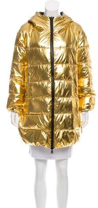 Pinko Reversible Puffer Coat w/ Tags