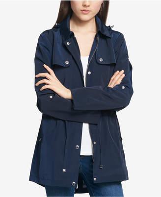 Tommy Hilfiger Water-Resistant Hooded Tab-Sleeve Anorak