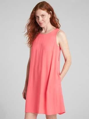 Gap Sleeveless Strappy Swing Dress
