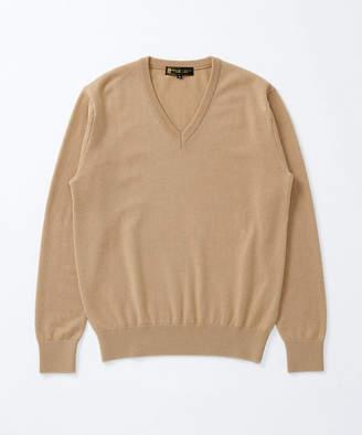 [アルファー] Vネックセーター(347940)