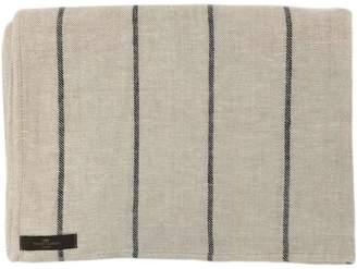 True Linen Linen Stripe Throw Jone