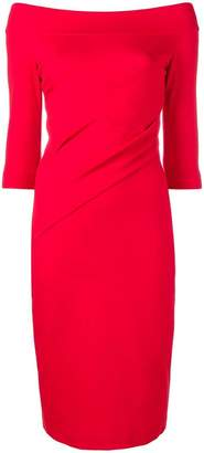Blumarine fitted midi dress