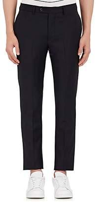 Officine Generale Men's Wool Twill Slim Trousers - Navy
