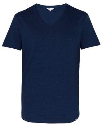 Orlebar Brown Ob V Cotton Jersey T Shirt - Mens - Dark Blue