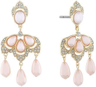 MONET JEWELRY Monet Jewelry 90th Anniversary Chandelier Earrings